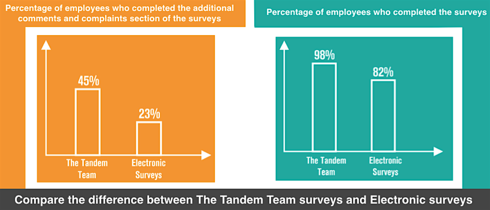 The Tandem Team, Employee Engagement Surveys Vancouver, Employee Satisfaction Surveys Vancouver, Employee Surveys Vancouver
